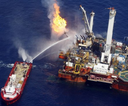 Routine maintenance sparked Gulf oil platform accident, firm says