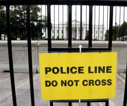 White House intruder ran through much of main floor