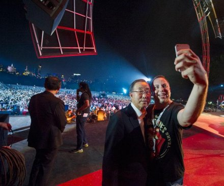 U.N.'s Ban Ki-moon: 'A better world is around the corner'