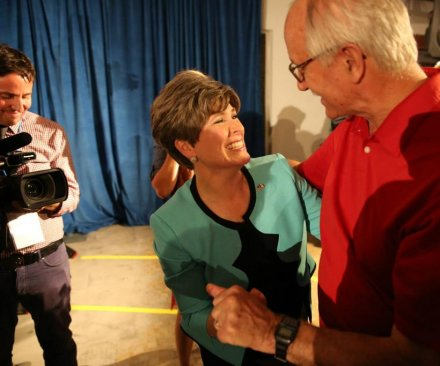 Poll: Joni Ernst gains a couple of points in Iowa Senate race