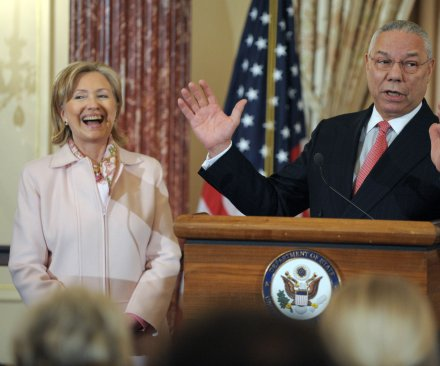 Colin Powell says he's voting for Hillary Clinton