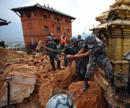 Nepal earthquake: 101-year-old man rescued