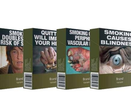 WHO: Plain packs for cigarettes to 'go global'