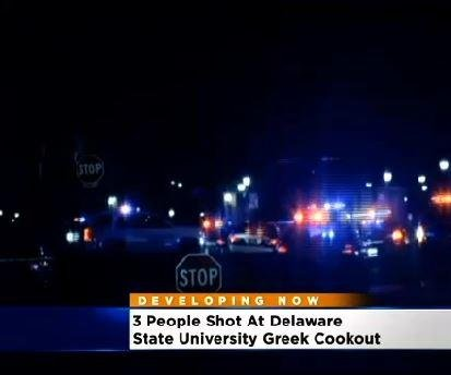 Police: 2 shootings at Delaware State University, 3 wounded