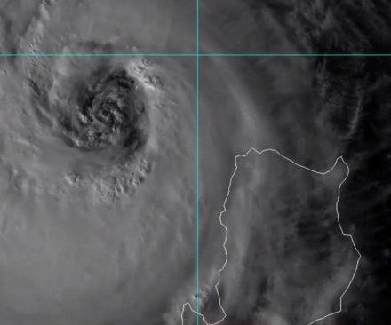 Super Typhoon Haima looking at direct hit on Hong Kong