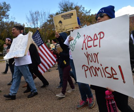Immigrants and supporters praise Obama's executive order, call for greater action