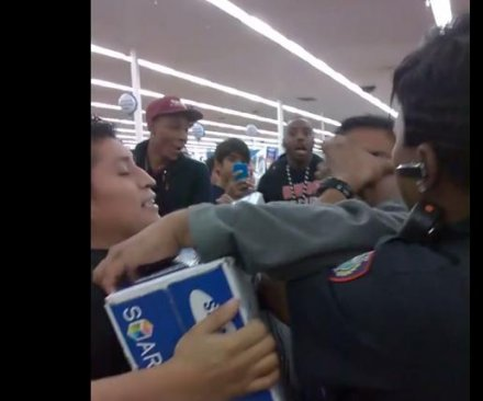 Crowds throng stores for Black Friday deals; police involved in some incidents