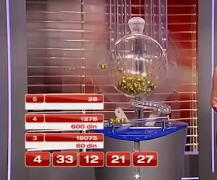 Winning lottery number shown on live TV before drawn