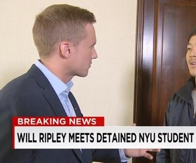 South Korean NYU student detained in North Korea says he wanted to be arrested