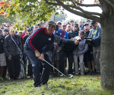 2016 Ryder Cup: U.S team posts surprising 4-0 sweep