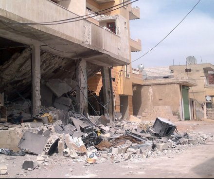 Rights group: Airstrikes on IS oil facilities killed civilians