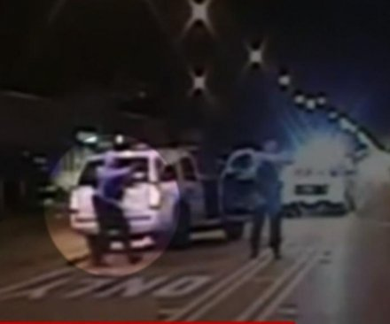 Protests erupt in Chicago after release of police video; officer charged with murder