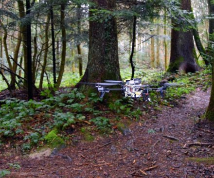 Scientists train drones to search for lost hikers