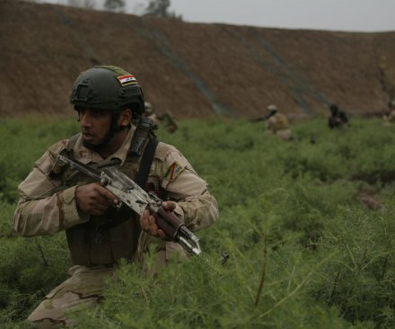 Iraqi forces fend off Islamic State counterattack in Fallujah suburb
