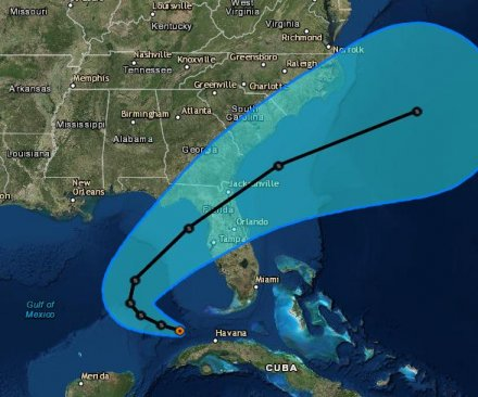 Tropical depressions target Florida, North Carolina