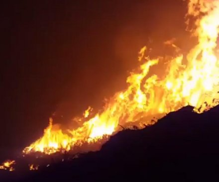 Northern California wildfire continues to grow