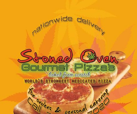 Los Angeles bakery delivers marijuana-infused pizzas