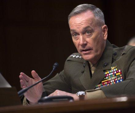 Marine Gen. Joseph Dunford confirmed as Joint Chiefs chairman