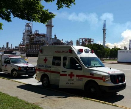 Three seriously injured after oil refinery explosion in Mexico