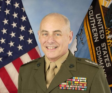 Donald Trump taps Gen. John F. Kelly to lead Department of Homeland Security