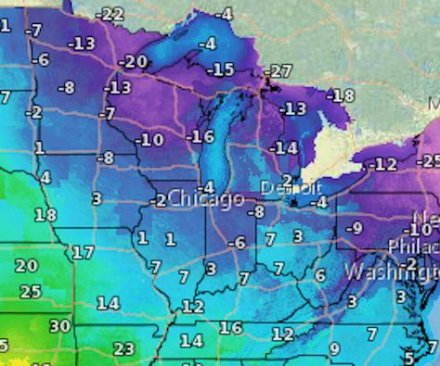 Polar vortex threatens extreme cold in the Northeast