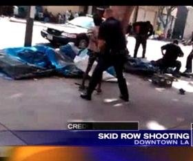 Los Angeles police shoot, kill man during Skid Row altercation