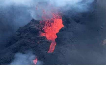 Volcanic eruptions increase size of island south of Japan
