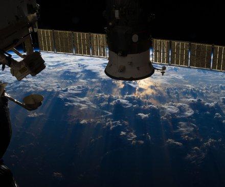 NASA astronauts continue space station prep