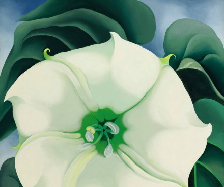 Georgia O'Keeffe painting sells for a record $44.4M