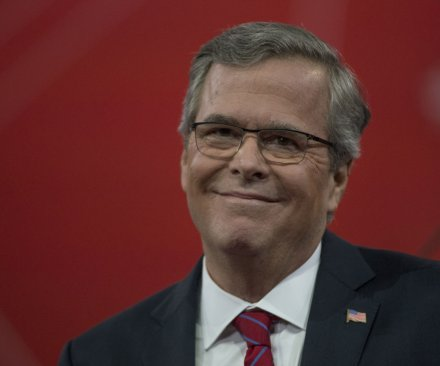 Jeb Bush greeted with boos but energetic on CPAC stage