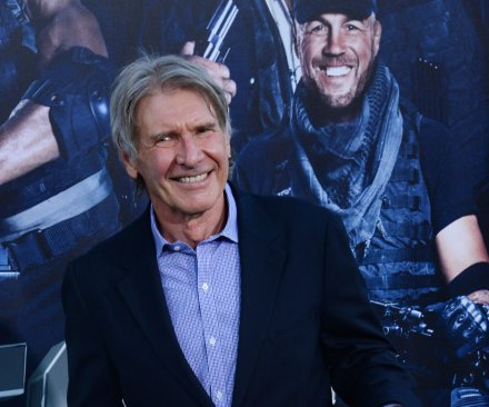 Son says hospitalized Harrison Ford is 'battered, but OK'