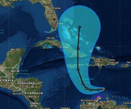 Matthew grows again, now a Category 4 'major' hurricane aimed at Jamaica, Cuba