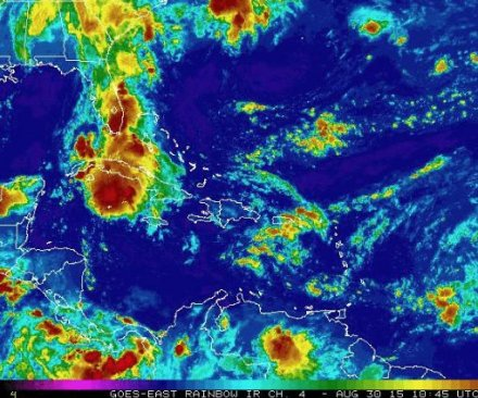 Tropical Storm Erika remnants bring flooding to Florida, South Carolina