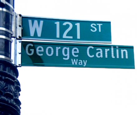 See New York block renamed after George Carlin