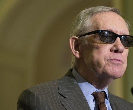 Senate Minority Leader Harry Reid won't seek re-election in 2016