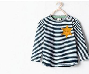 Zara pulls toddler shirt featuring apparent Holocaust star from stores