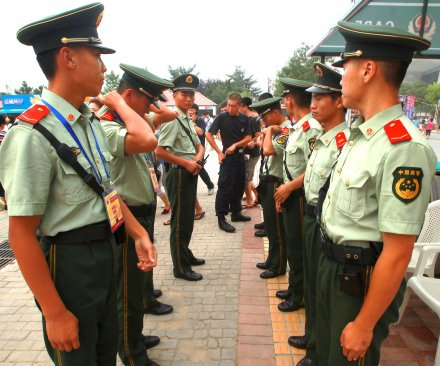 Chinese police urged to trim $32k haircut budget