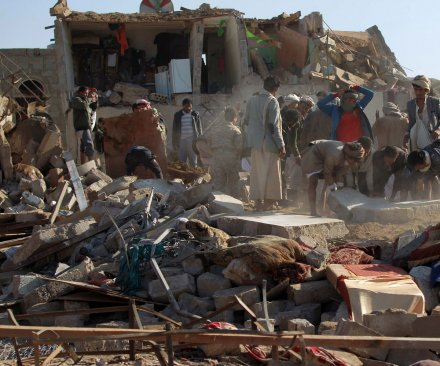 18 killed in Saudi coalition airstrikes in Yemen; Iran condemns operation