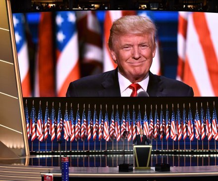 Trump pleases congressional Republicans with convention speech