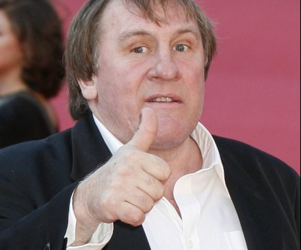Gerard Depardieu hangs out with dictators and can't drink less than 14 bottles of wine per day