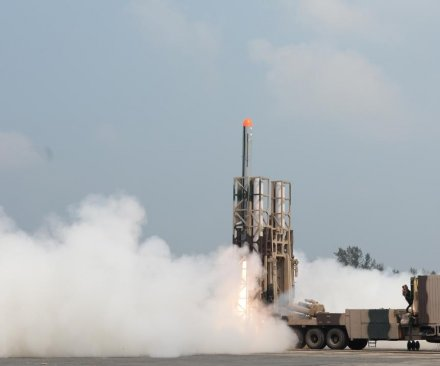 India touts successful test of locally designed cruise missile