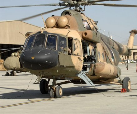 Russia completes helicopter deliveries to Afghanistan