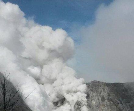 Costa Rica's Turrialba volcano erupts