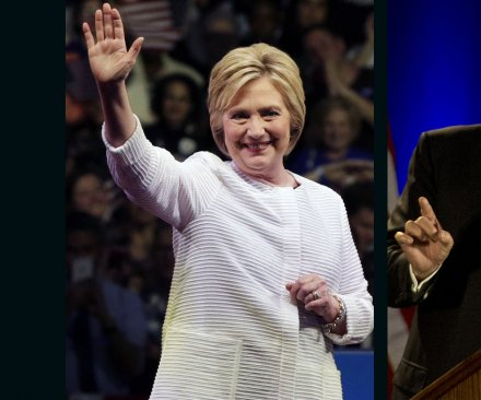 UPI/CVoter poll: Hillary Clinton maintains 3.1-point lead over Donald Trump