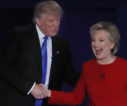 UPI/CVoter: Hillary Clinton regains slight lead over Donald Trump in first post-debate poll