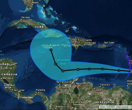 Tropical Storm Matthew expected to be a hurricane by Friday, hit Jamaica on Monday
