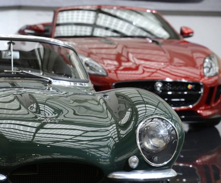 Police recover Jaguar stolen in 1968
