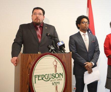 Justice Dept. sues Ferguson over alleged racial bias