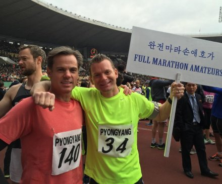 New York marathoners marvel at clean, friendly North Korea