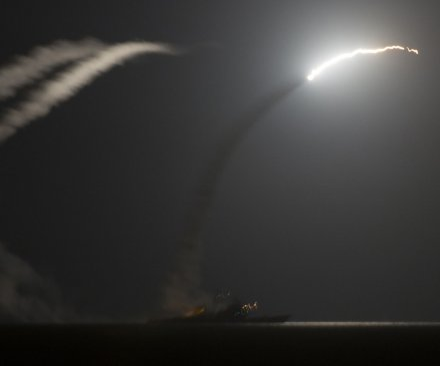 U.S., Arab countries unite to bombard Islamic State